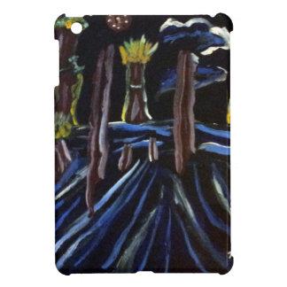 Neon Electric Trees iPad Mini Cases