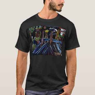 Neon Electric Trees T-Shirt