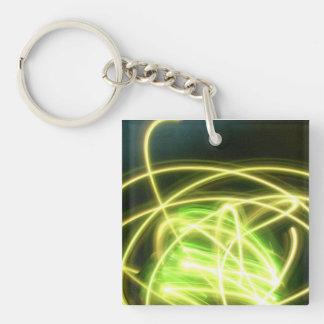 Neon Exposures Atomic Key Chain