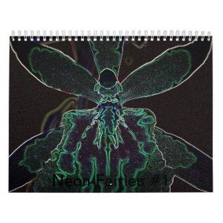 Neon Fairies #1 Calendar