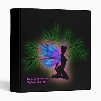 Neon Fairy Sweet 16 Birthday Photo Album Binder