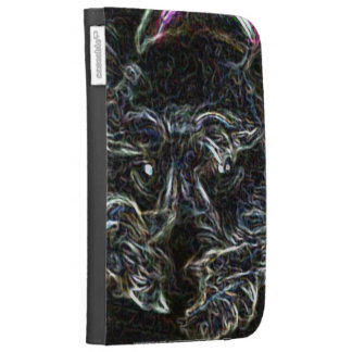 Neon Fergie Cases For The Kindle