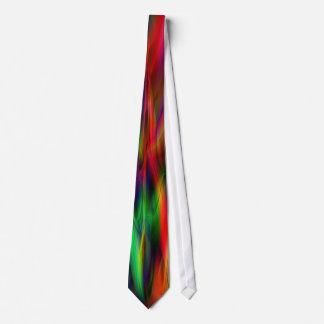 Neon Flame Tie