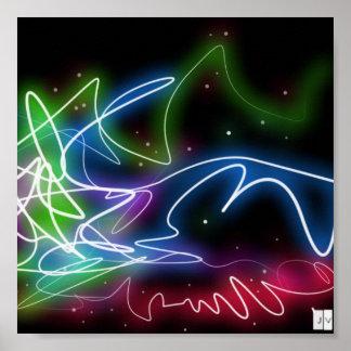 neon flavor poster