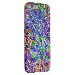 Neon Flower Bloom iPhone 6 case