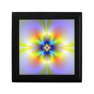 Neon Flower Keepsake Box