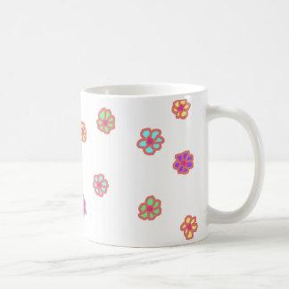 Neon Flower Mug