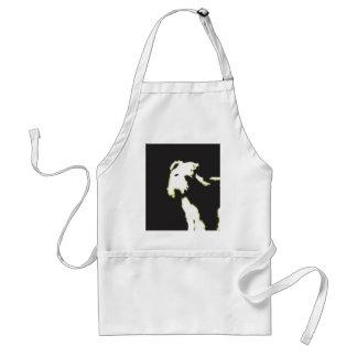 Neon fox terrier adult apron