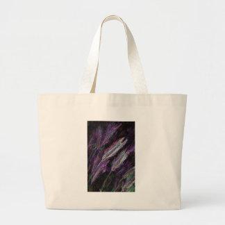 Neon Foxtails Canvas Bag