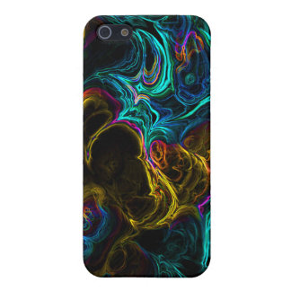 Neon Fractal 1 Cover For iPhone SE/5/5s