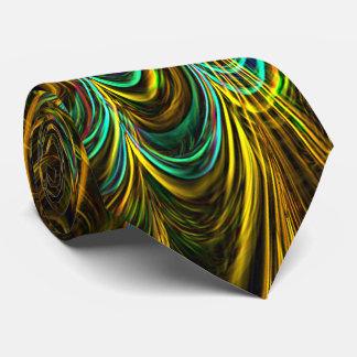 Neon Fractal 5 Neck Tie
