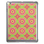 Neon Fractal Hippie Art Case For iPad
