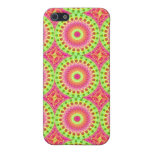 Neon Fractal Hippie Art Cover For iPhone 5