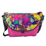 Neon Garden Messenger Bags