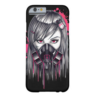 Neon Gas Mask Girl Barely There iPhone 6 Case