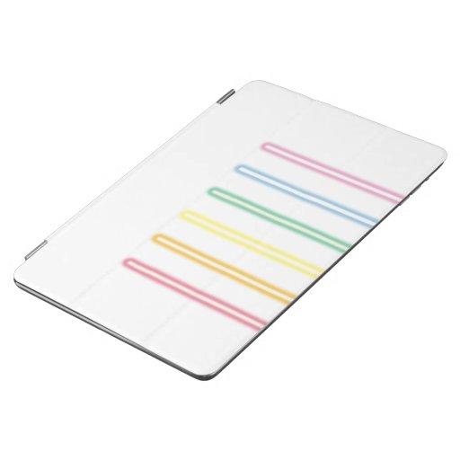 neon gay flag iPad air cover