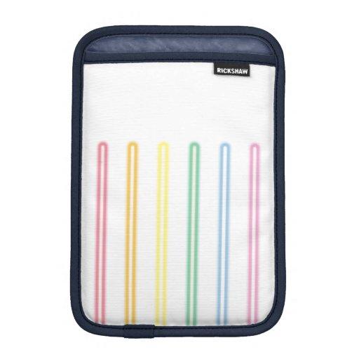 neon gay flag iPad mini sleeve
