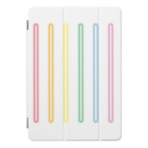 neon gay flag iPad pro cover
