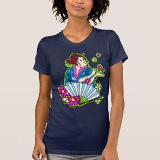 NEON geisha T Shirt