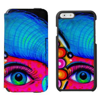 Neon Grafitti iPhone 6/6s Wallet Case