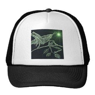 Neon Grasshopper Trucker Hat