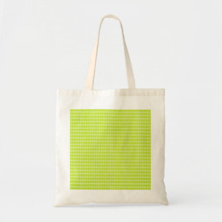 NEON GREEEN YELLOW CIRCLES PATTERNS BACKGROUNDS WA TOTE BAG