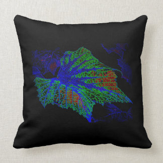 Neon Blue Throw Pillows : Grape Vines Pillows - Decorative & Throw Pillows Zazzle