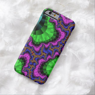 Neon Green and Purple Gear Barely There iPhone 6 Case