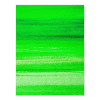 Neon Green Backdrop Watercolor Abstract Background Photo Print