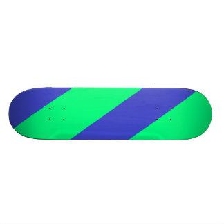 Neon Green & Blue SK8 Deck