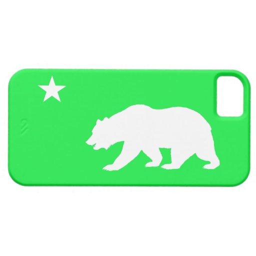 Neon Green California iPhone 5 Case