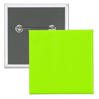 Neon Green Color Only Custom Products 2 Inch Square Button