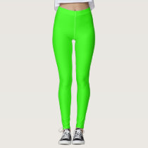 Neon Green Colored Leggings