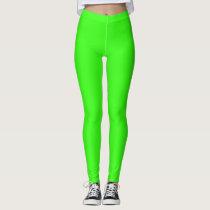 Neon Green Colored Leggings