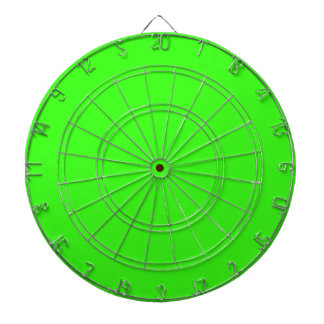 Neon Green Dartboard