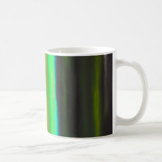 Neon Green Haze over the Black Lands Coffee Mug