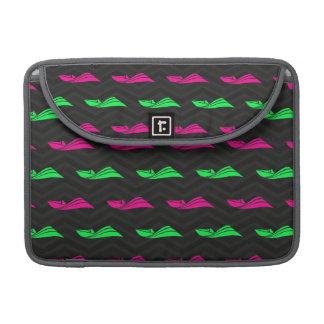 Neon Green, Hot Pink, Speed Boat, Black Chevron MacBook Pro Sleeve