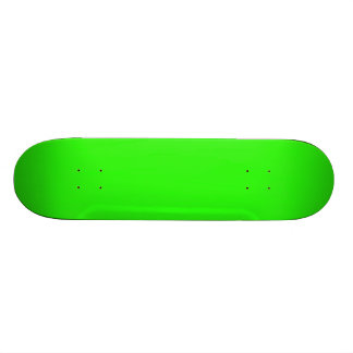 Neon Green Light Bright Fashion Color Trend 2014 Skateboard