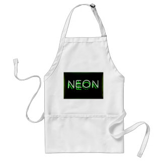 NEON - Green Neon Sign Aprons
