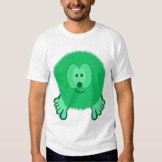 Neon Green Pom Pom Pal T-shirt