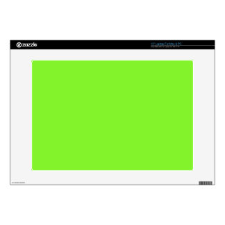 Neon Green Decal For Laptop