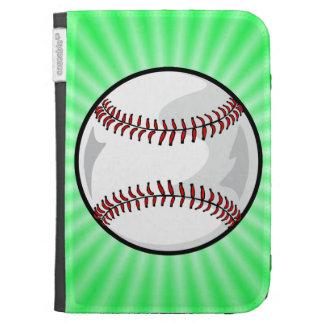 Neon Green Softball; Baseball Cases For The Kindle