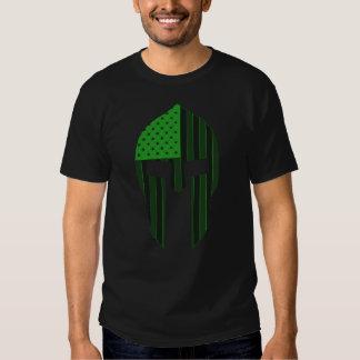Neon Green Spartan T Shirt