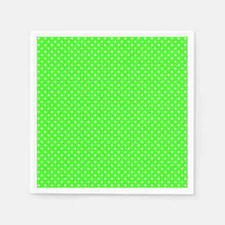 Neon Green Spotted Napkin