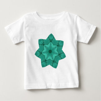 neon green star - abstract modern pattern design baby T-Shirt