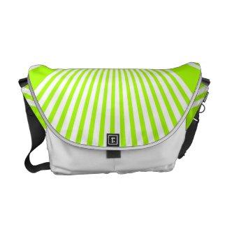 Neon Green Stripes