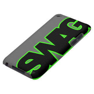 Neon Green SWAG Barely There iPod Covers