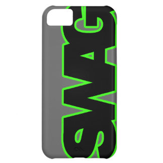 Neon Green SWAG Case For iPhone 5C