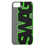 Neon Green SWAG Cover For iPhone 5C