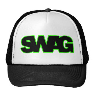 Neon Green SWAG Hat